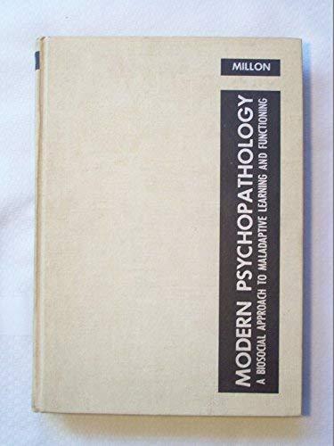 9780721663852: Modern Psychopathology