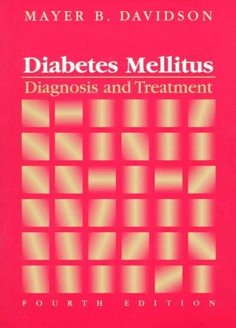 9780721664033: Diabetes Mellitus: Diagnosis and Treatment