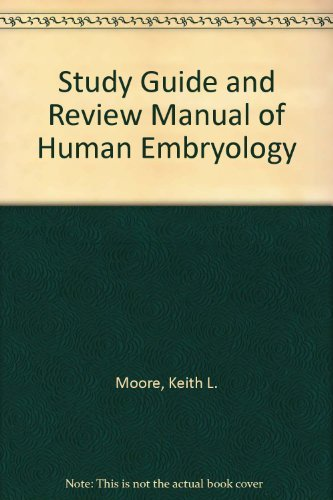 9780721664750: Study Guide and Review Manual of Human Embryology