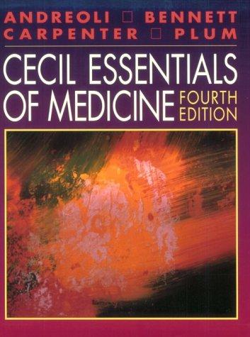 9780721666976: Cecil Essentials of Medicine (Cecil Medicine)