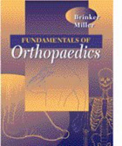9780721666983: Fundamentals of Orthopaedics, 1e