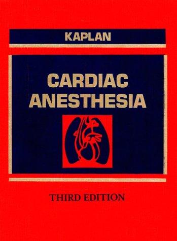 9780721667072: Cardiac Anesthesia