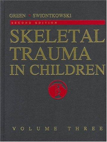 9780721667355: Skeletal Trauma in Children, Volume Three