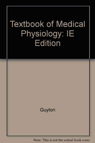 9780721667737: Textbook Of Medical Physiology