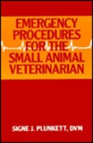 9780721667812: Emergency Procedures for the Small Animal Veterinarian
