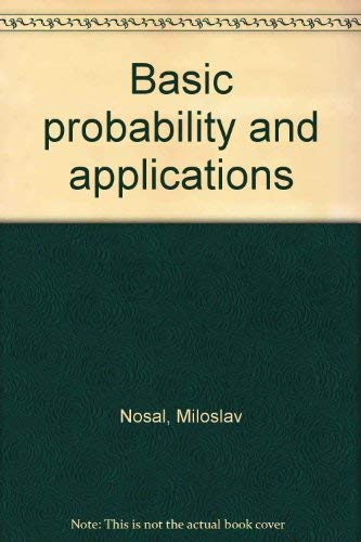 9780721668659: Basic probability and applications