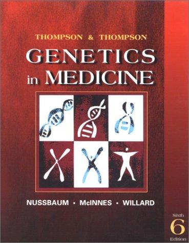 9780721669021: Thompson & Thompson Genetics in Medicine, Sixth Edition
