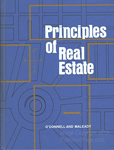 9780721669113: Principles of real estate