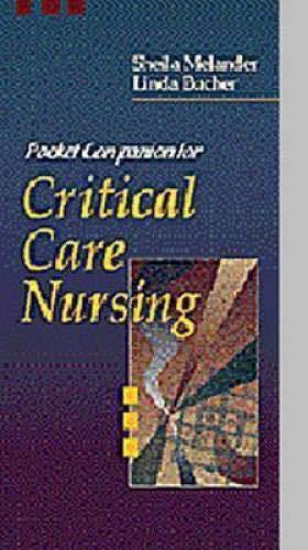 9780721669199: Pocket Companion for Critical Care Nursing, 1e