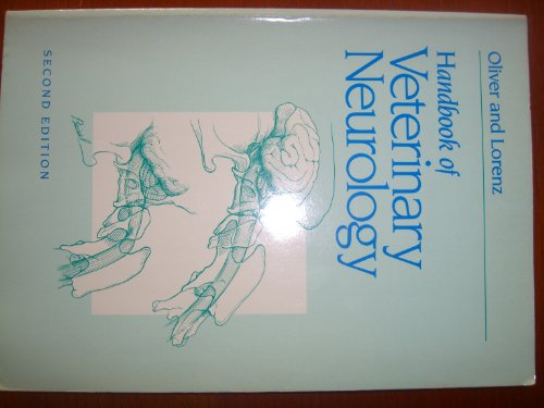 9780721669687: Handbook of Veterinary Neurology