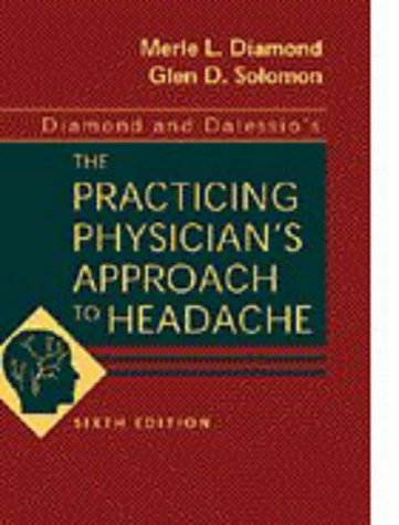 9780721669991: Diamond and Dalessio's The Practicing Physician's Approach to Headache