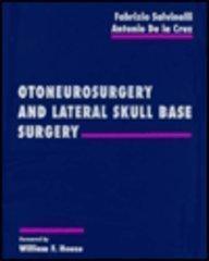 9780721670515: Otoneurosurgery and Lateral Skull Base Surgery