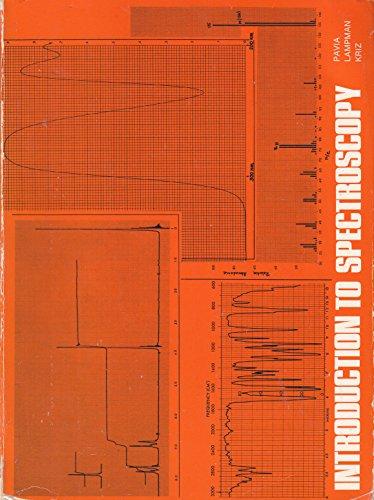 9780721671192: Introduction to Spectroscopy (Saunders Golden Sunburst Series)
