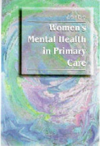 9780721672397: Women's Mental Health in Primary Care, 1e