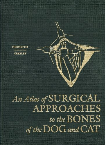 9780721672410: An Atlas of Surgical Approaches to the Bones of the Dog and Cat