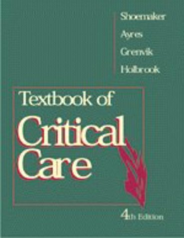 9780721672465: Textbook of Critical Care