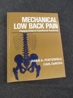 9780721672977: Mechanical Low Back Pain: Perspectives in Functional Anatomy