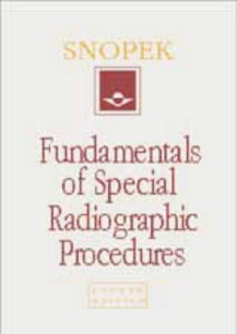 9780721673141: Fundamentals of Special Radiographic Procedures