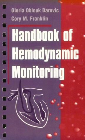 9780721673707: Handbook of Hemodynamic Monitoring