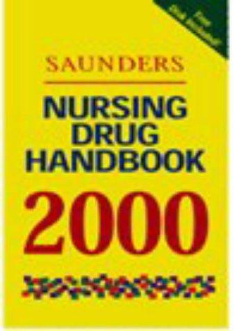 9780721673998: Saunders Nursing Drug Handbook 2000