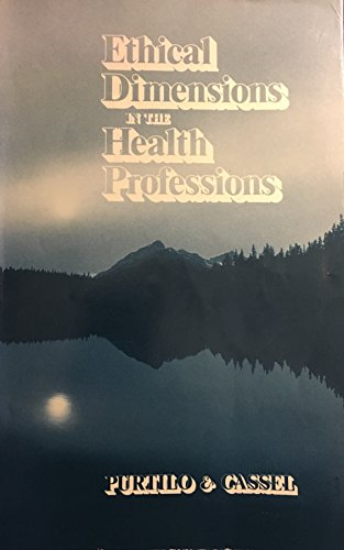 9780721674117: Ethical Dimensions in the Health Professions
