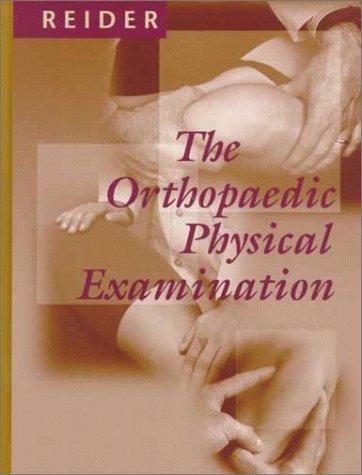 9780721674377: The Orthopaedic Physical Examination, 1e