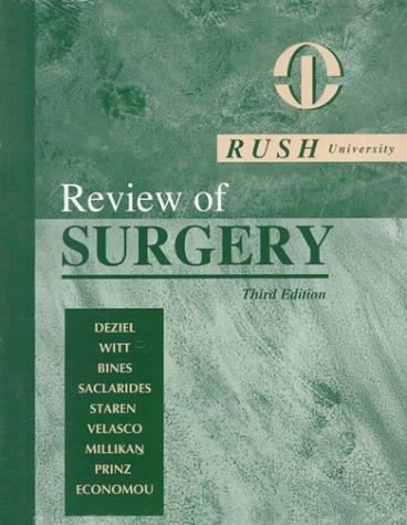 9780721675817: Rush University Review of Surgery, 3e