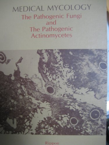 9780721675855: Medical Mycology: Pathogenic Fungi and the Pathogenic Actinomycetes