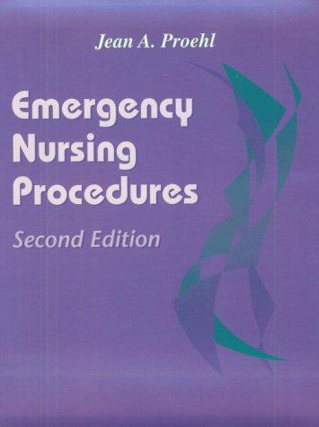 9780721675893: Emergency Nursing Procedures, 2e