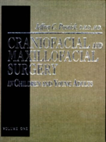 9780721677101: Craniofacial and Maxillofacial Surgery in Children and Young Adults (2-Volume Set)