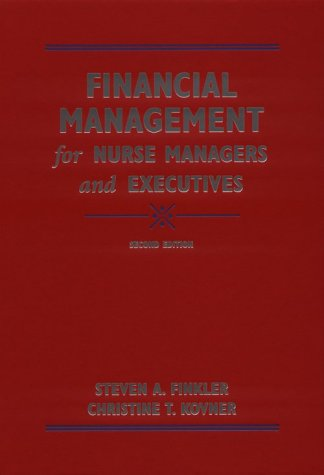 9780721677149: Financial Management for Nurse Managers and  Executives, 2e