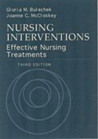 9780721677248: Nursing Interventions: Effective Nursing Treatments