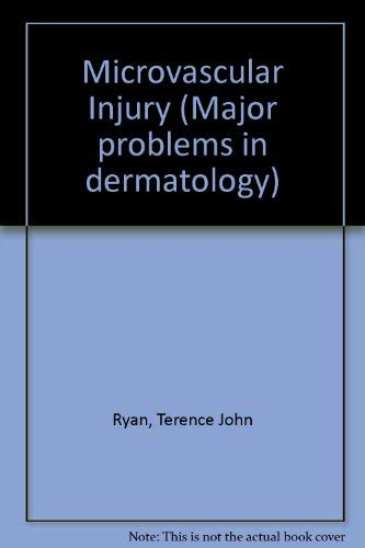 9780721678580: Microvascular Injury (Major problems in dermatology)
