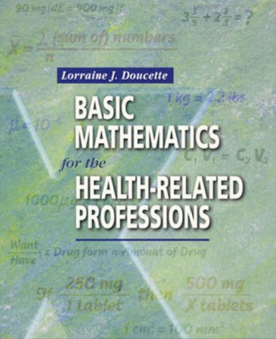 9780721679389: Basic Mathematics for the Health-Related Professions, 1e