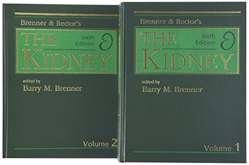9780721679983: Brenner and Rector's the Kidney, 2-Volume Set
