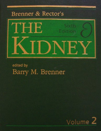 9780721680002: Brenner and Rector's the Kidney (volume 2)