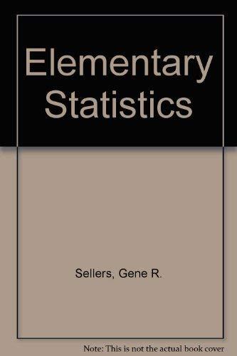 9780721680491: Elementary Statistics