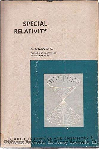 9780721681153: Special Relativity