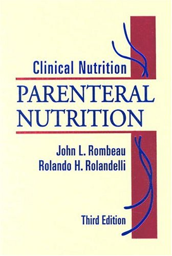 Clinical Nutrition: Parenteral Nutrition 9780721681207 The new 3rd Edition of this definitive reference on parenteral nutrition has been completely revised and updated to cover some of the significant advances in the field. This New Edition is also multi-authored with several international contributors to broaden its appeal. Furthermore, a number of new chapters have been added to cover some of the latest advances such as Metabolic Response to Illness and Its Medications; Transplantation; Nutritional Pharmacotherapy with PN and Peripheral PN; and many more. Thoroughly revised and updated to provide the most current information in the field.International authors broaden readership appeal. Parenteral feeding modalities in both the hospital and at home are included.