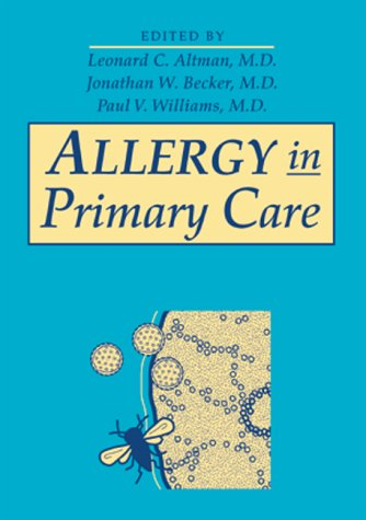 Allergy in Primary Care: Leonard C. Altman