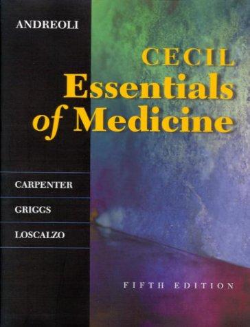 9780721681795: Cecil Essentials of Medicine (Cecil Medicine)