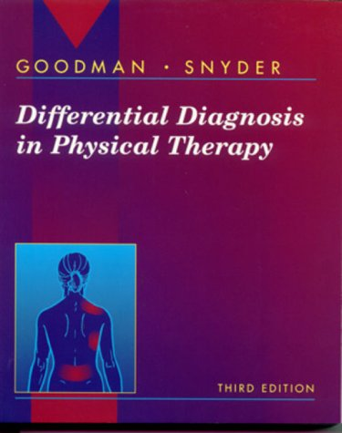 9780721681849: Differential Diagnosis in Physical Therapy