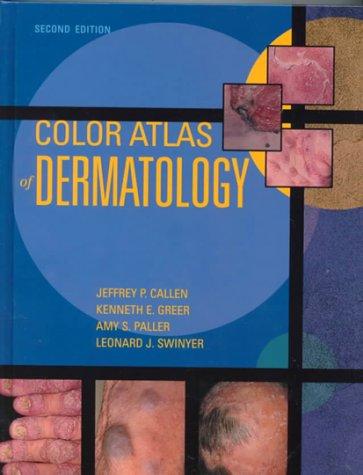9780721682563: Color Atlas of Dermatology