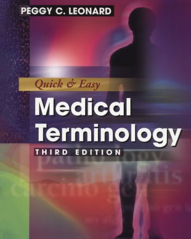 9780721682716: Quick & Easy Medical Terminology (Book with Audiocassette & CD-ROM for Windows & Macintosh)