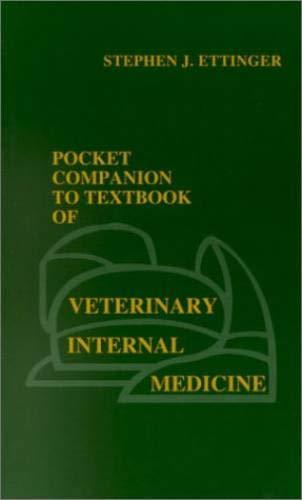 9780721682839: Pocket Companion to Textbook of Veterinary Internal Medicine, 3e