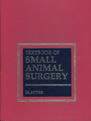 9780721683485: Textbook of Small Animal Surgery (2-Volume Set)