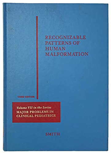 Recognizable Patterns of Human Malformation : Genetic,: David W. Smith