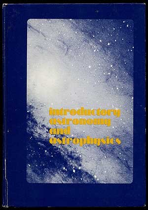 9780721683874: Introductory Astronomy and Astrophysics