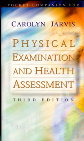 9780721684345: Pocket Companion for Physical Examination and Health Assessment