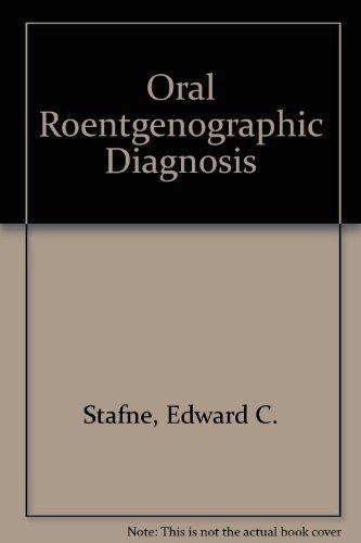 9780721685472: Oral Roentgenographic Diagnosis